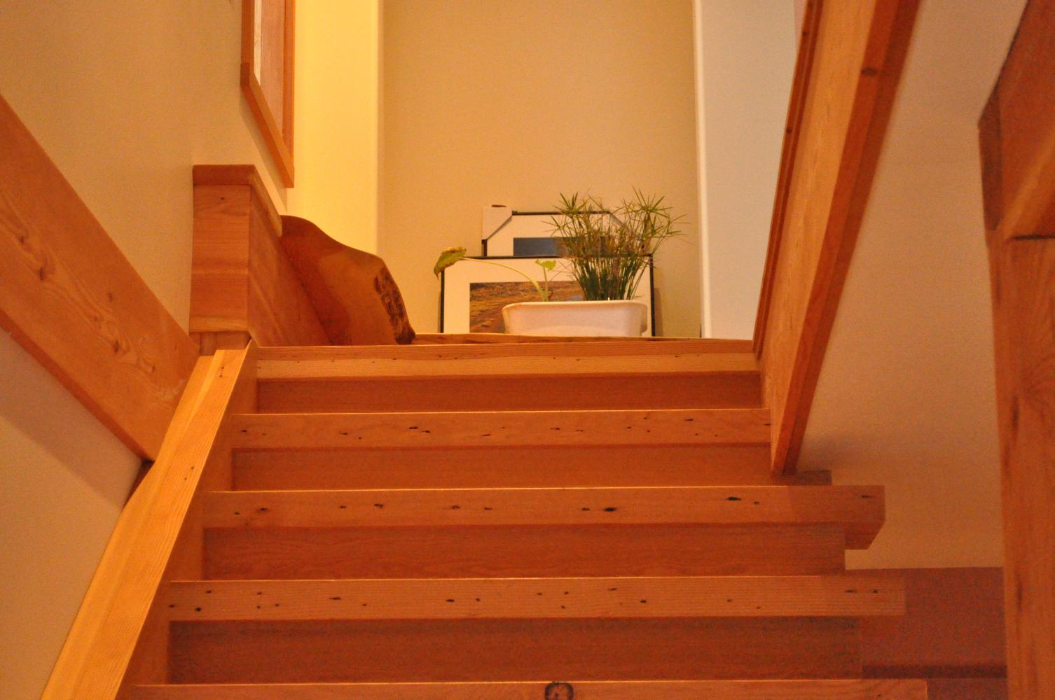 Antique Newel Posts, Rails, and Complete Stair Units.