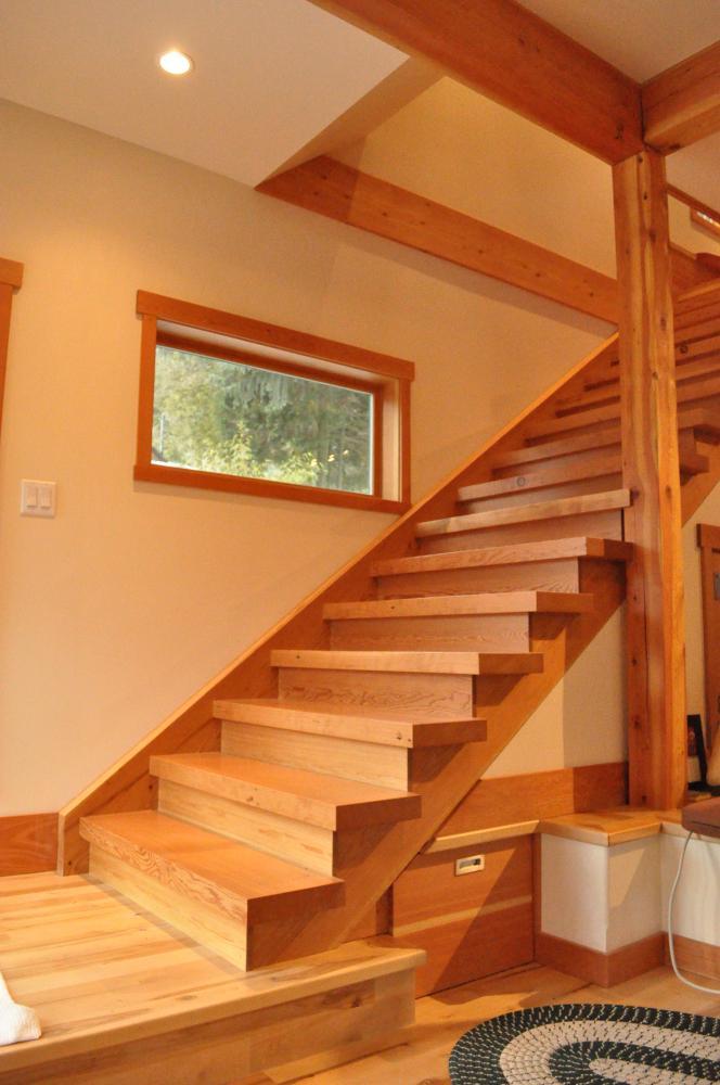 Reclaimed Douglas Fir Stairs. For ...