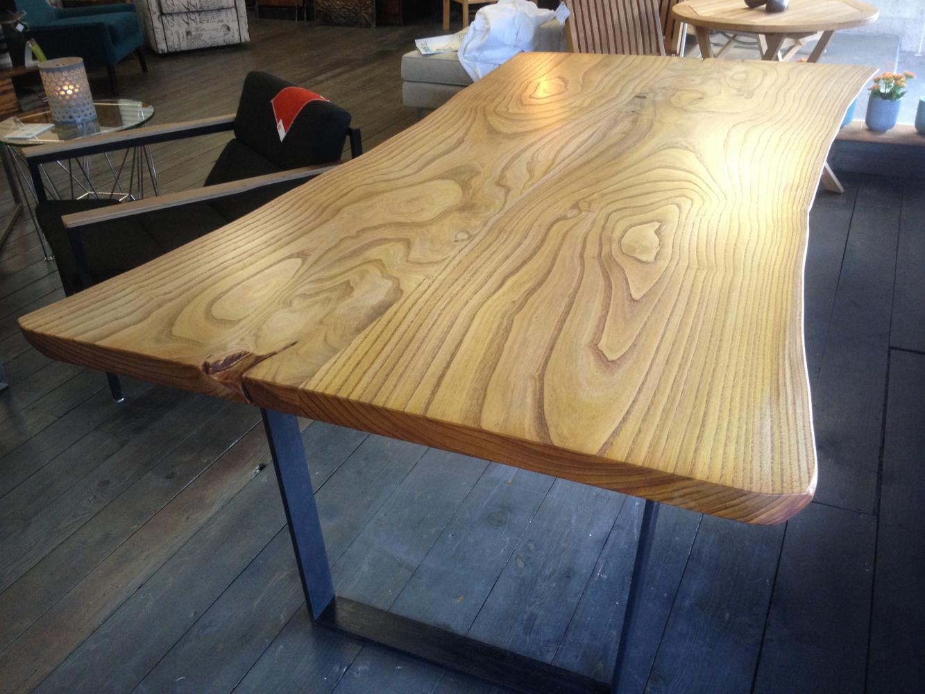 Ordinaire Live Edge Sweet Chestnut Dining Table. Dining ...